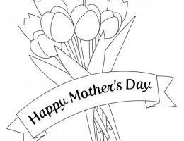 Mothers day black and white clipart 4 » Clipart Portal.