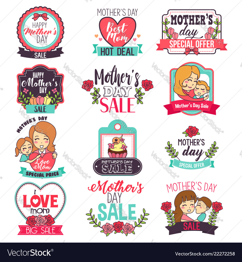 Mother day sale sign clipart.