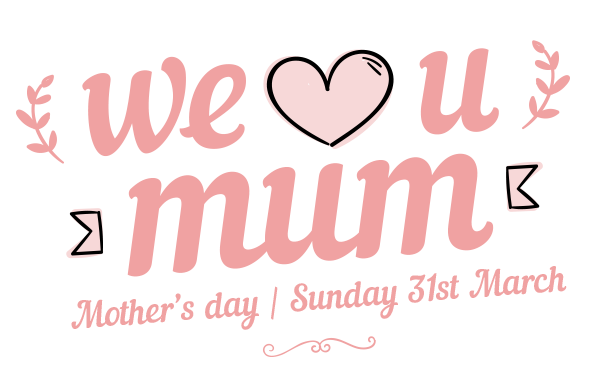 we love mom happy mothers day clipart.