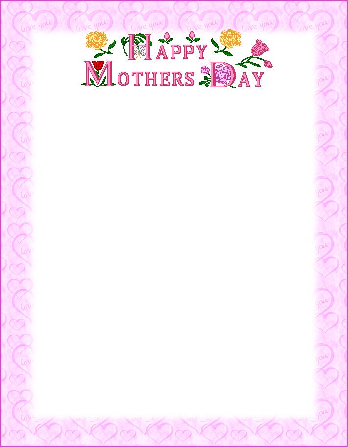 Mom clipart border, Mom border Transparent FREE for download.