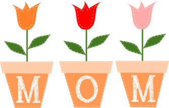 Happy Mother Day Clipart Free.