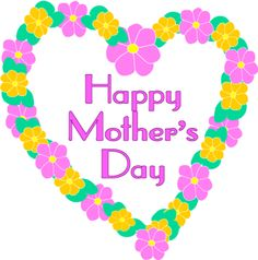 Mothers Day Flower Clipart.