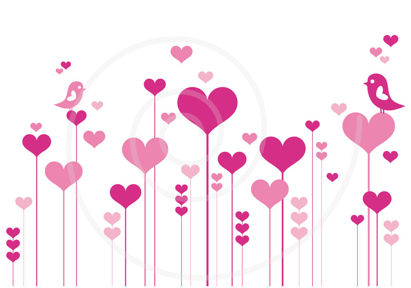 Mother's Day Heart Clip Art.