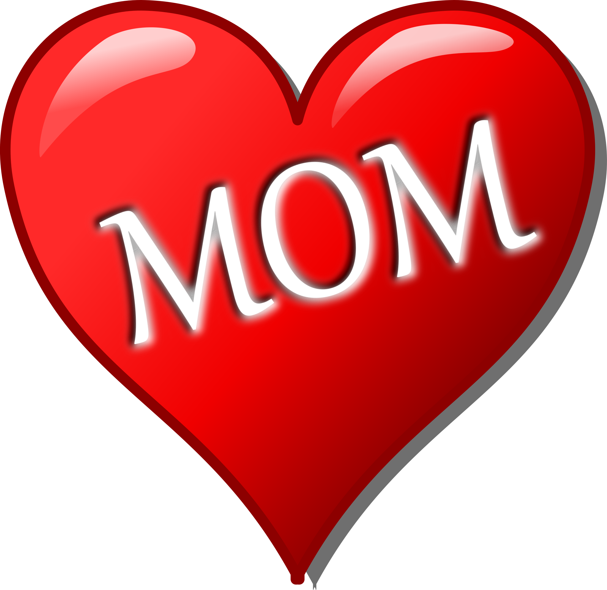 Mother's Day Heart Clipart