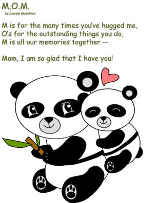 mothers day peom clipart #2