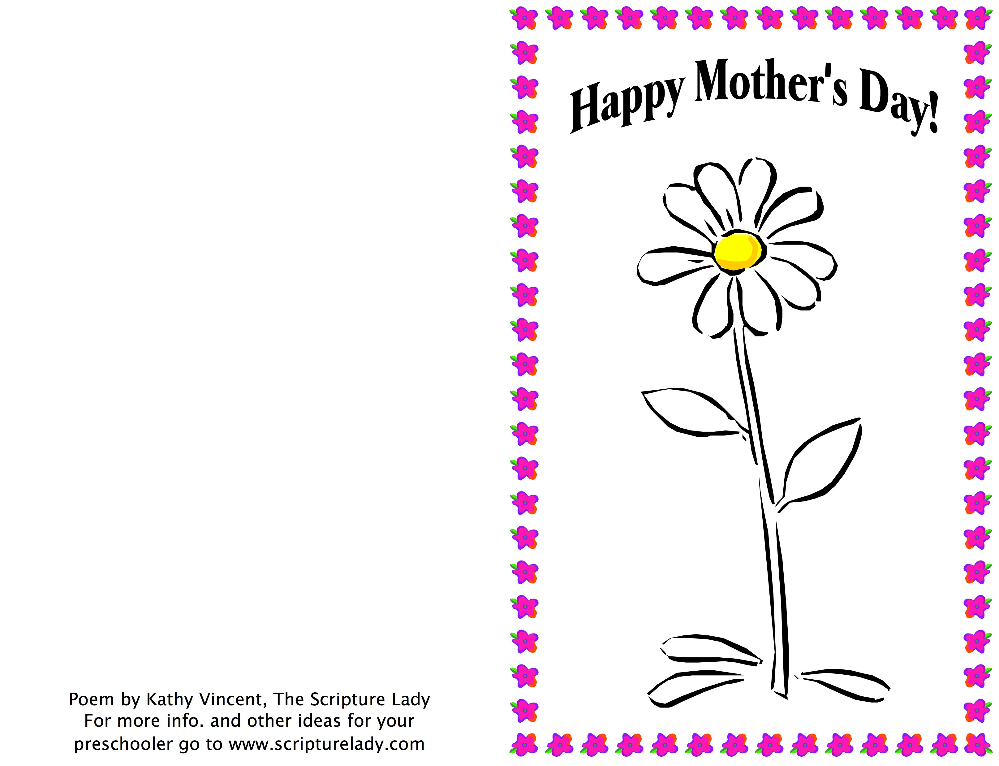 Planting Seeds: A Christian Mother's Day Poem for Kids.