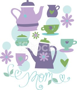 Mother\'s Day Tea premium clipart.