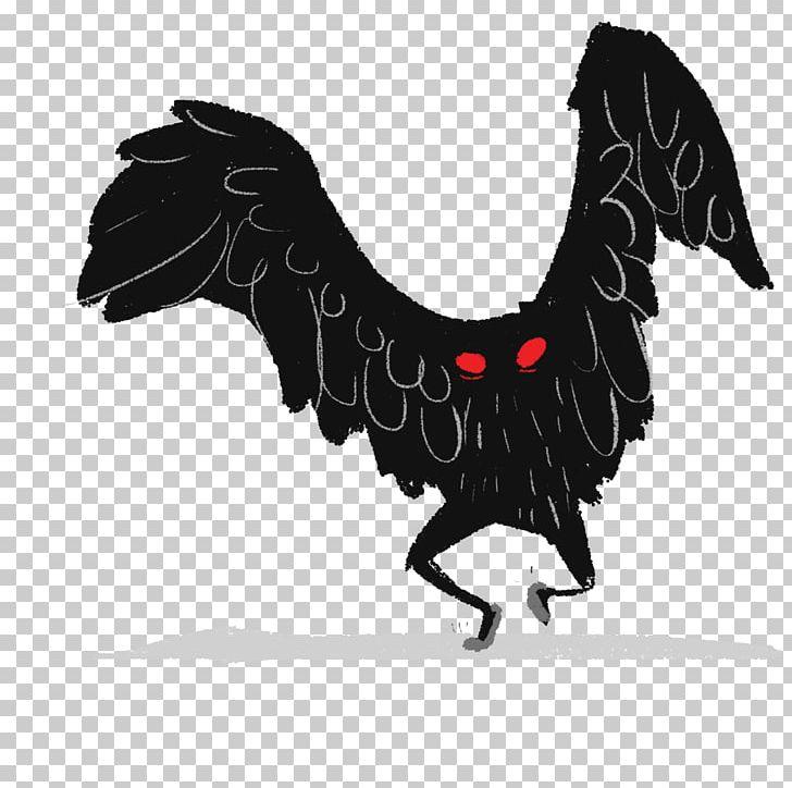 Mothman PNG, Clipart, Bird, Black And White, Chicken, Design.