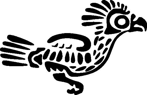 Ancient Mexico Motif 6 Clipart.