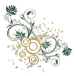 Green Gold Premium Design.