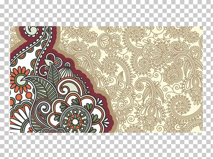 Cdr Batik CorelDRAW, motif, illustration of green and red.