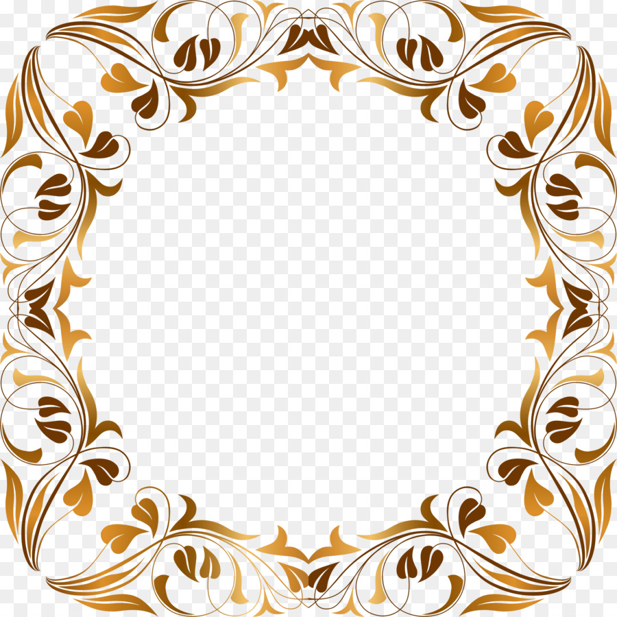Floral Pattern Frame clipart.