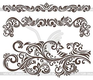 Clip art motifs.