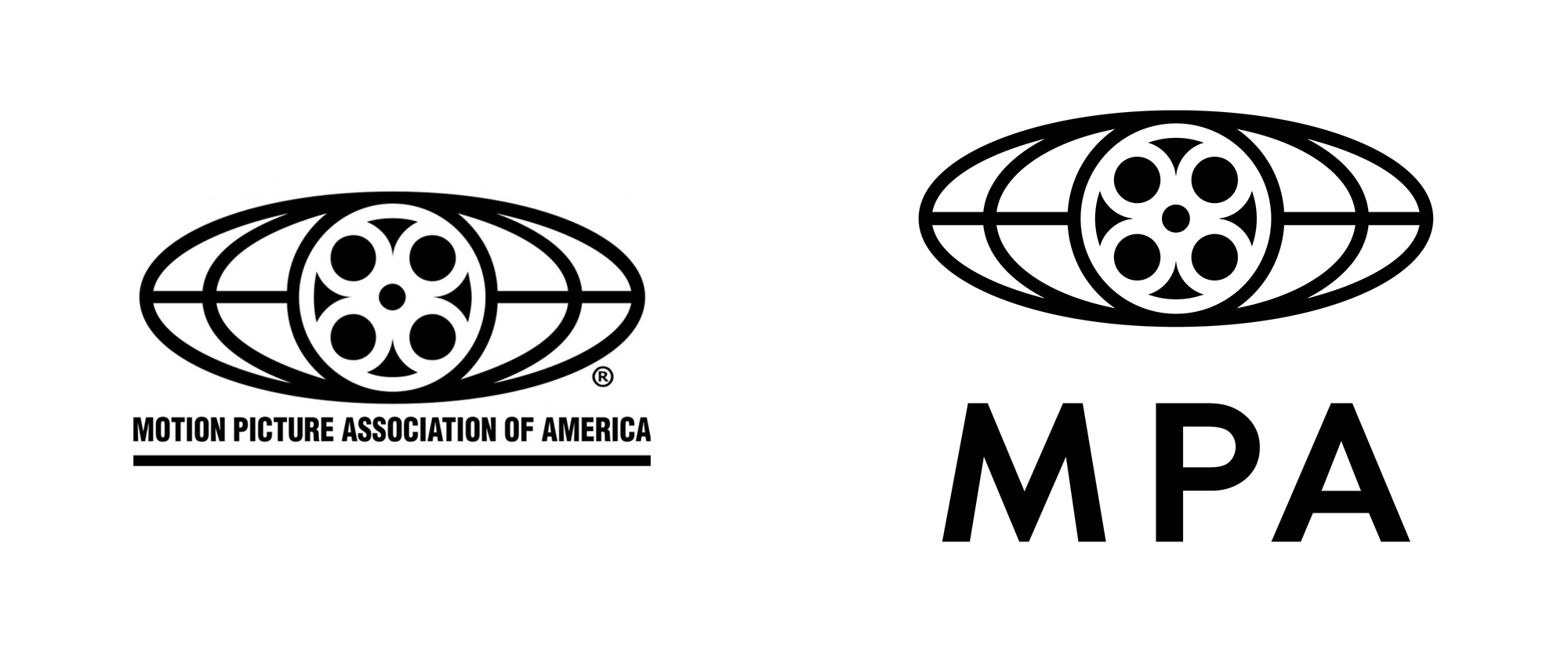 Brand New: New Name and Logo for Motion Picture Association.