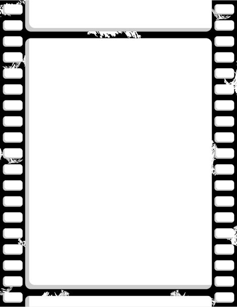 Printable film strip border. Free GIF, JPG, PDF, and PNG downloads.