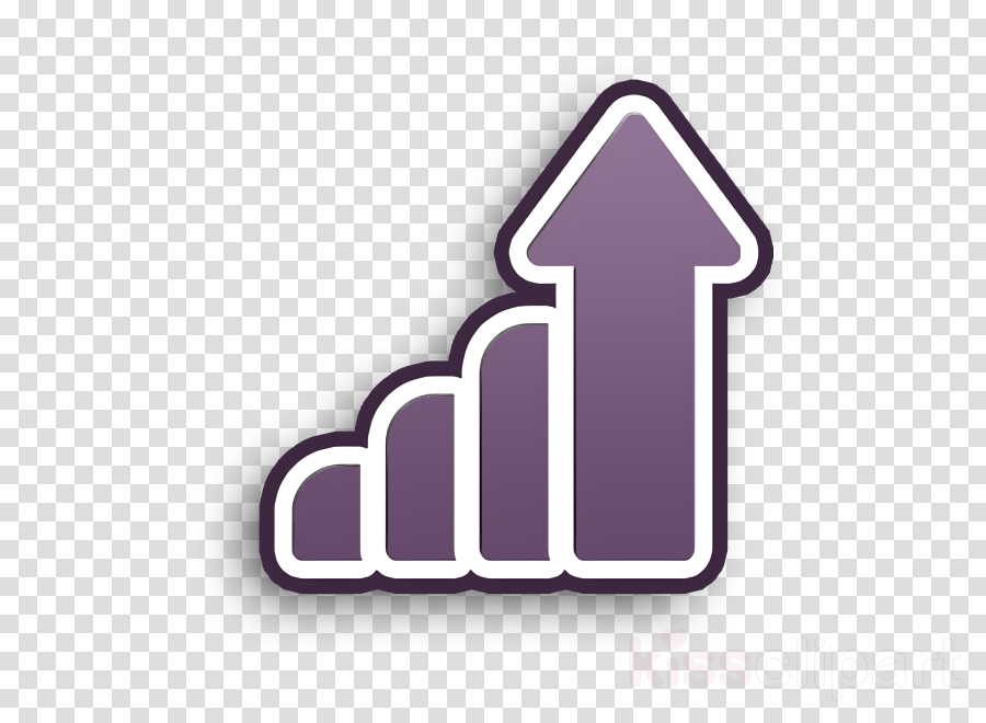 Motivation icon Growth icon clipart.