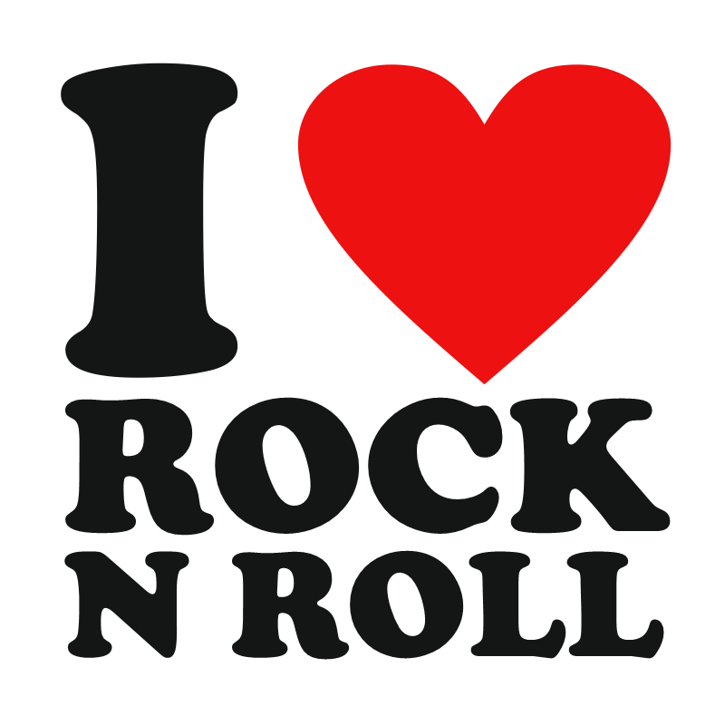 Rock And Roll Graphics.
