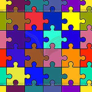 background with puzzle.