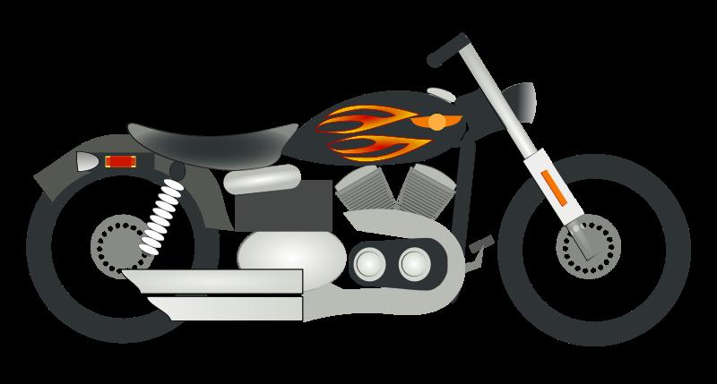 Motorbike Clipart.