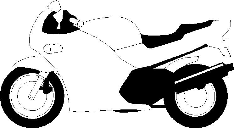 Clipart moto.