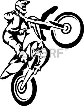 6,321 Motocross Stock Vector Illustration And Royalty Free.