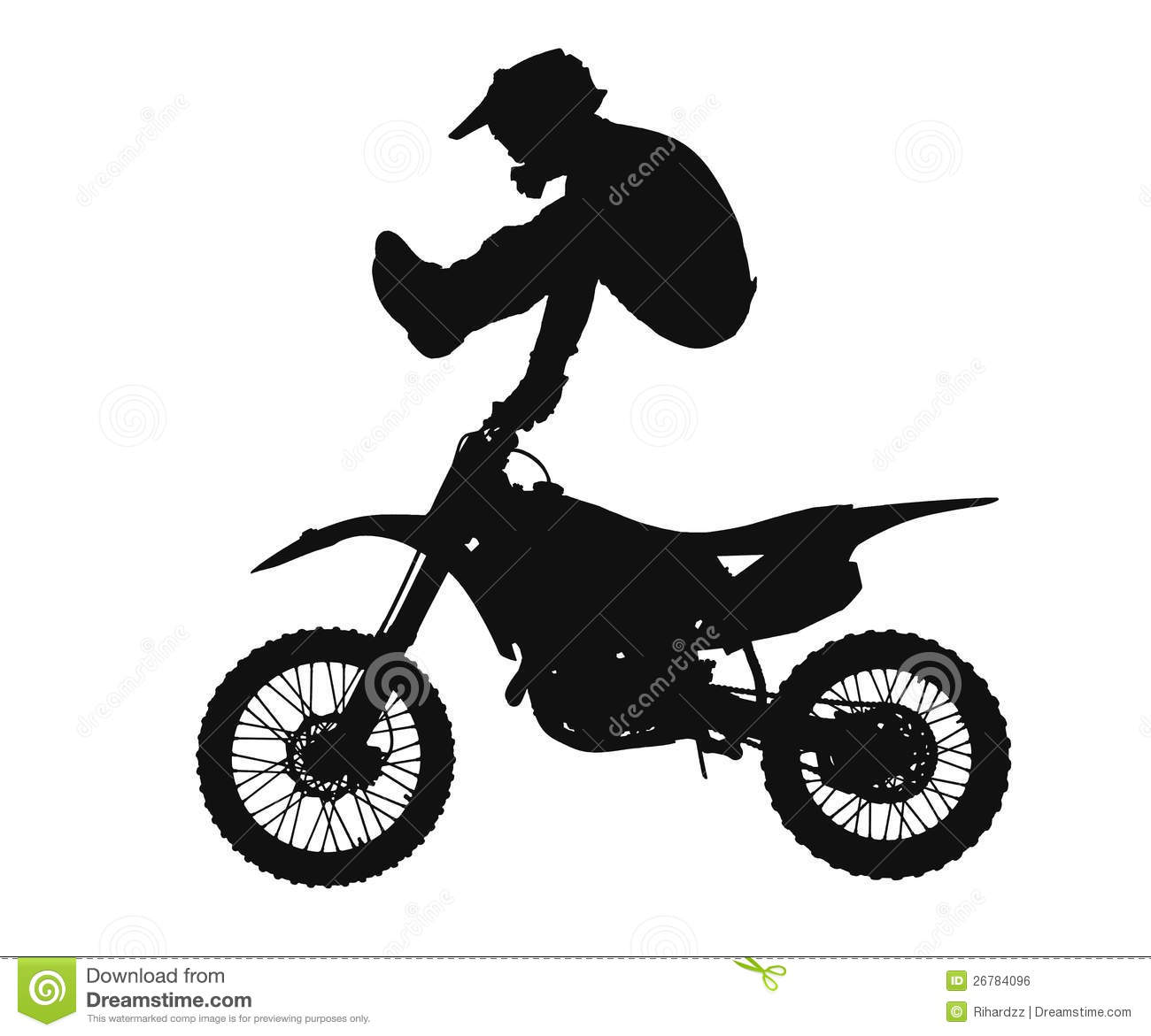 Motocross Clipart Page 1.