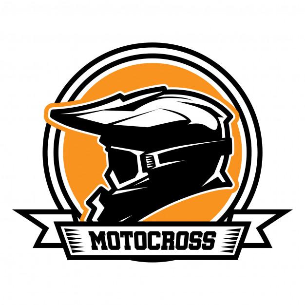 Motocross logo Vector.