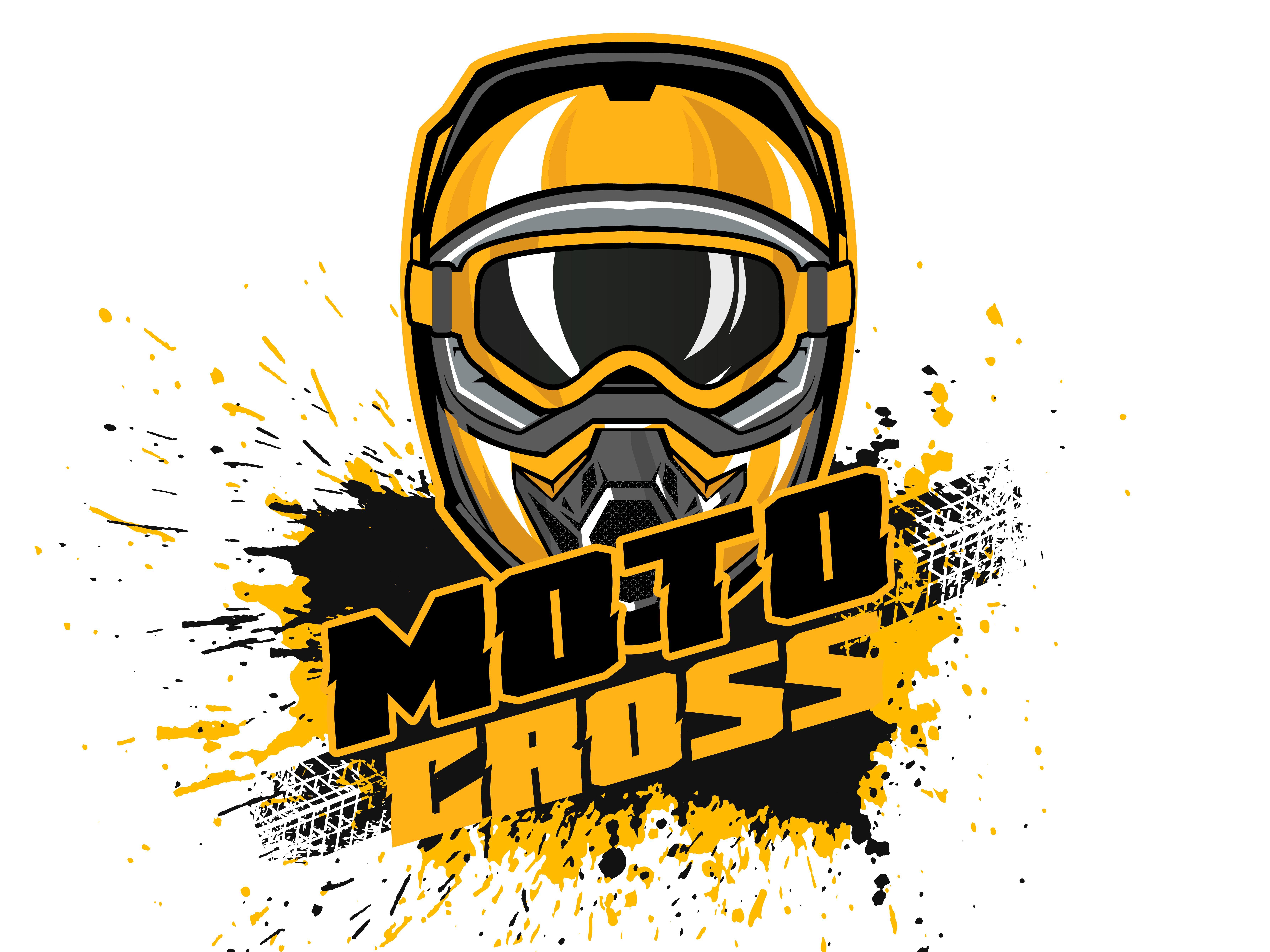 Motocross illustration.