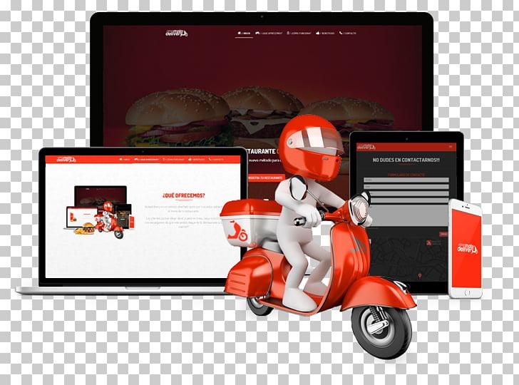 Service Comida a domicilio Delivery Motorcycle Restaurant.