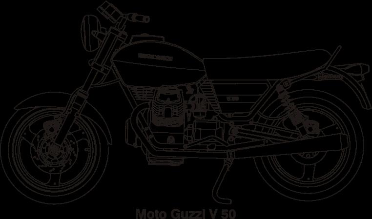 Clipart moto guzzi.