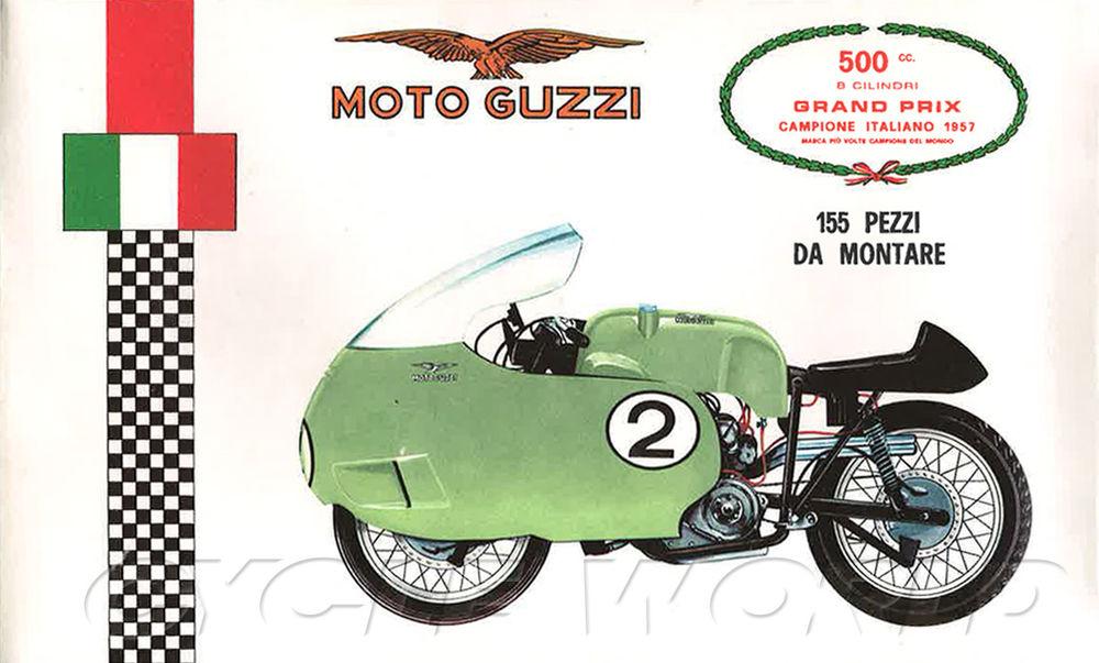 Moto Guzzi V8 Grand Prix Roadracers.