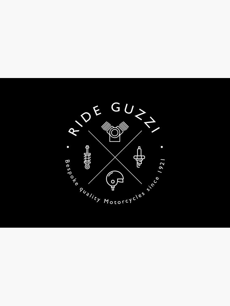 Moto Guzzi Mechanic Logo.