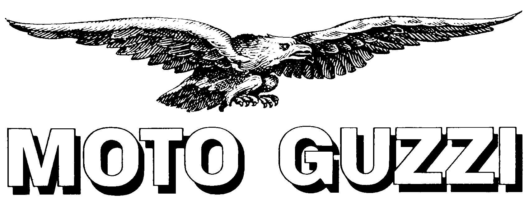 Moto Guzzi Emblem.