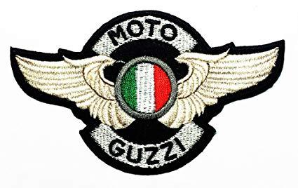 Moto Guzzi Patch Motorbike Motorsport Motorcycles Biker Racing logo patch  Jacket T.