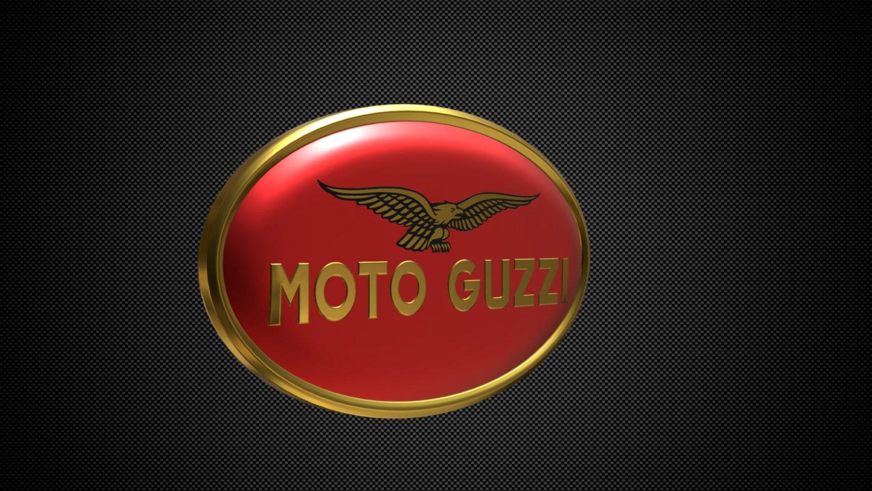 Moto guzzi logo 2 3D Model in Motorcycle 3DExport.