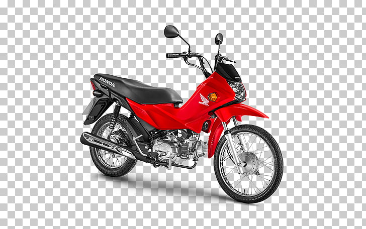 Honda POP 100 Motorcycle Car Exhaust system, Moto PNG.