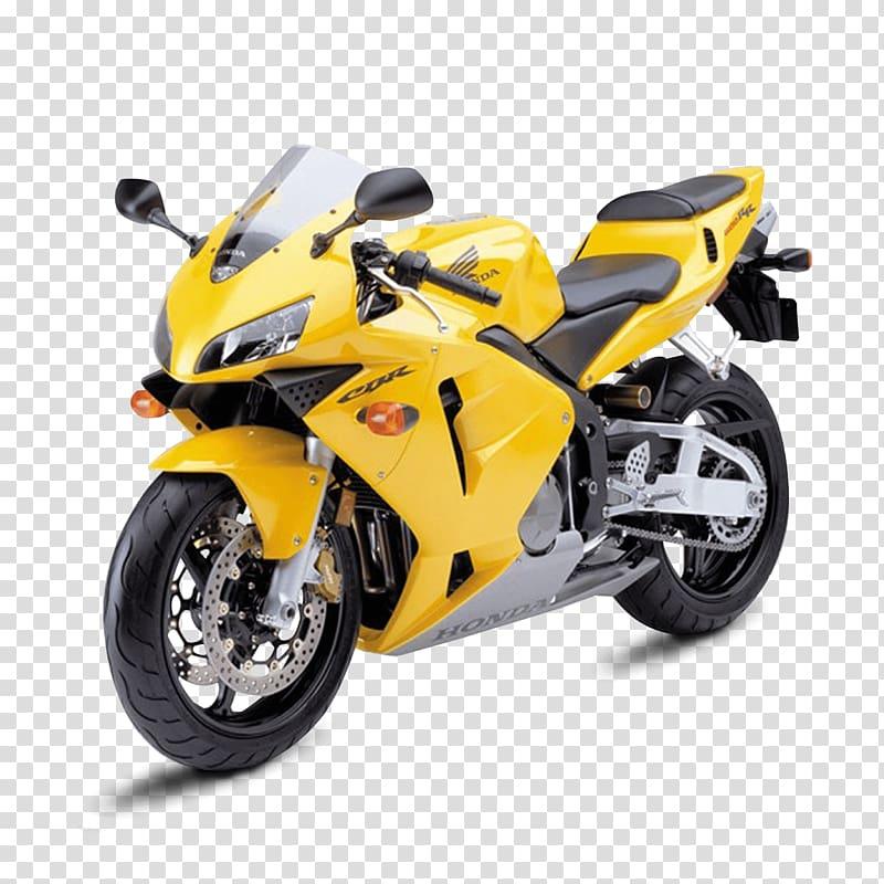 Yellow Honda CBR sportbike, Honda CBR250R/CBR300R Car Honda.