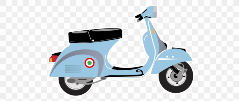 Scooter Vespa GTS Motorcycle Clip Art, PNG, 881x374px.