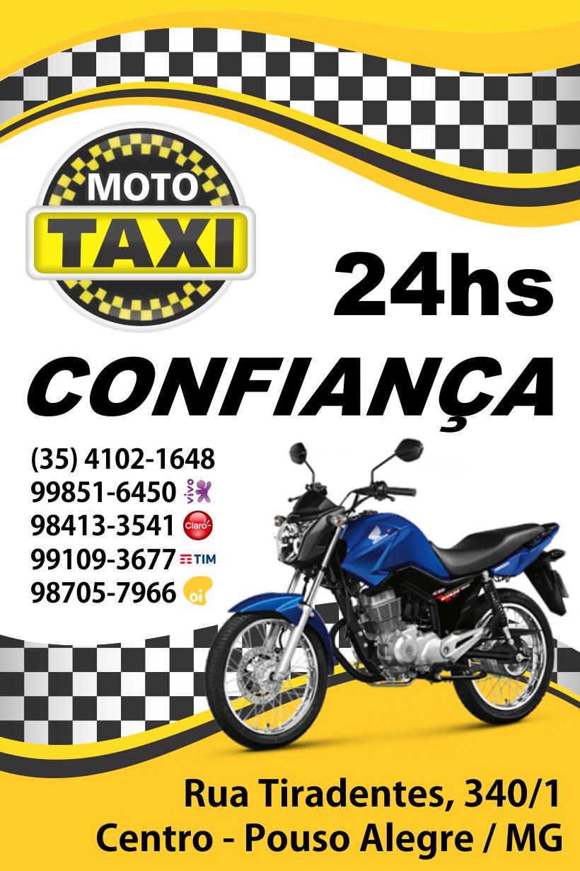 Moto Táxi Confiança.
