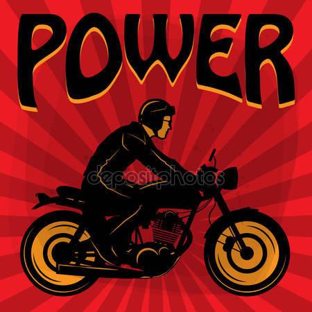 Vectores de stock de Cartel vintage moto aventura, ilustraciones.