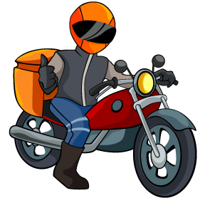 Motoboy delivery png » PNG Image.