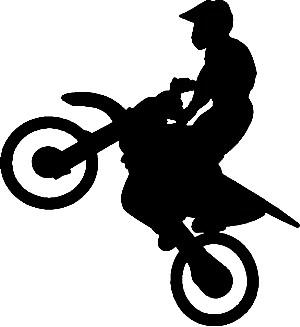 Motocross Clipart.