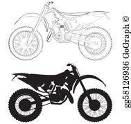 Dirt Bike Clip Art.