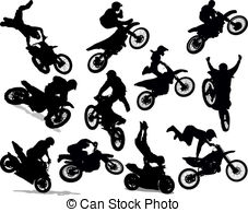 Motocross Illustrations and Clipart. 8,821 Motocross royalty.