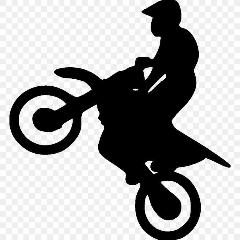 Motorcycle Silhouette Bicycle Motocross Clip Art, PNG.
