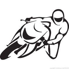 Clipart moto gp.
