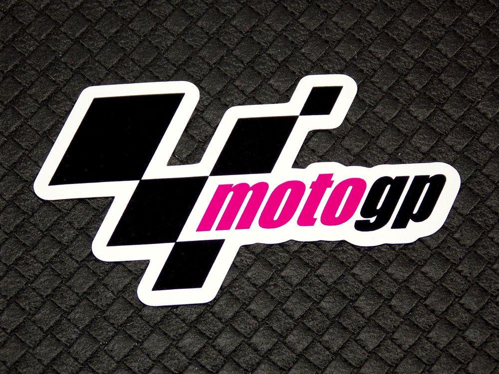 Moto GP MotoGP Logo Flexible Fridge Refrigerator Magnet.