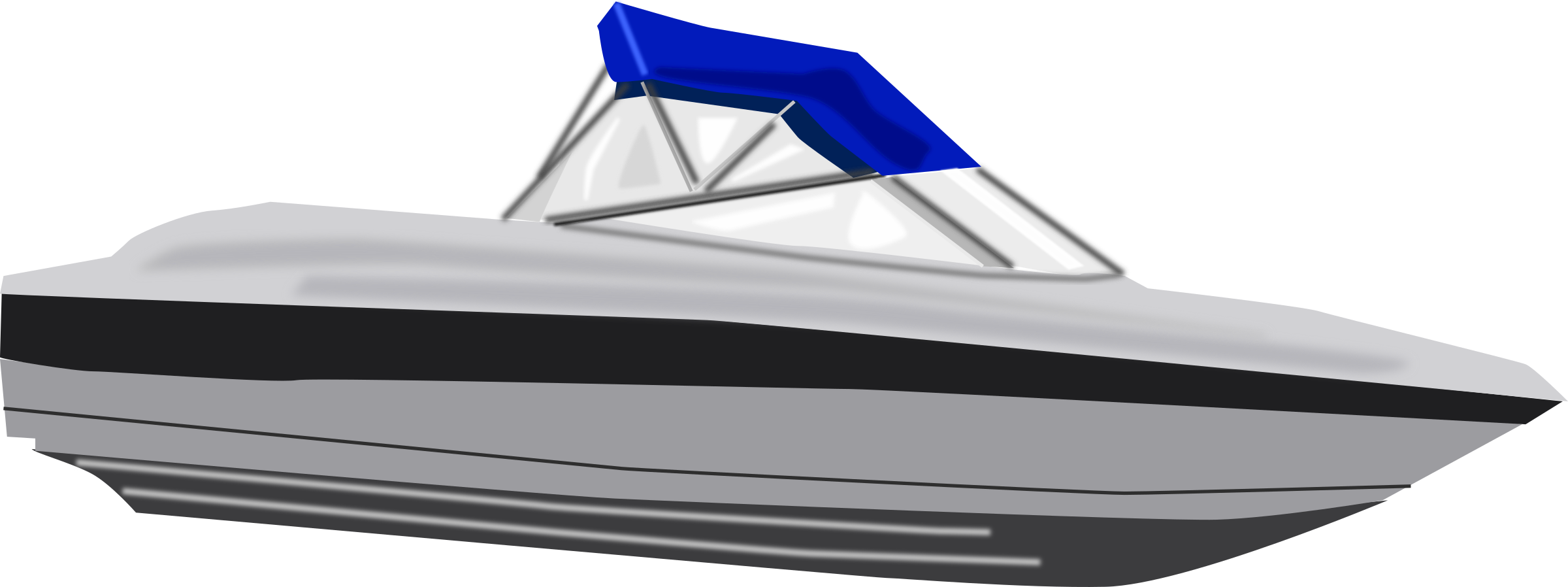 Speed Boat Clipart.