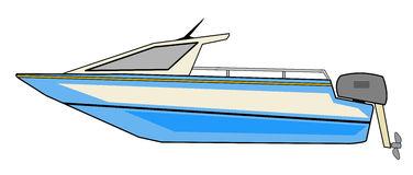 Motor boat clipart.