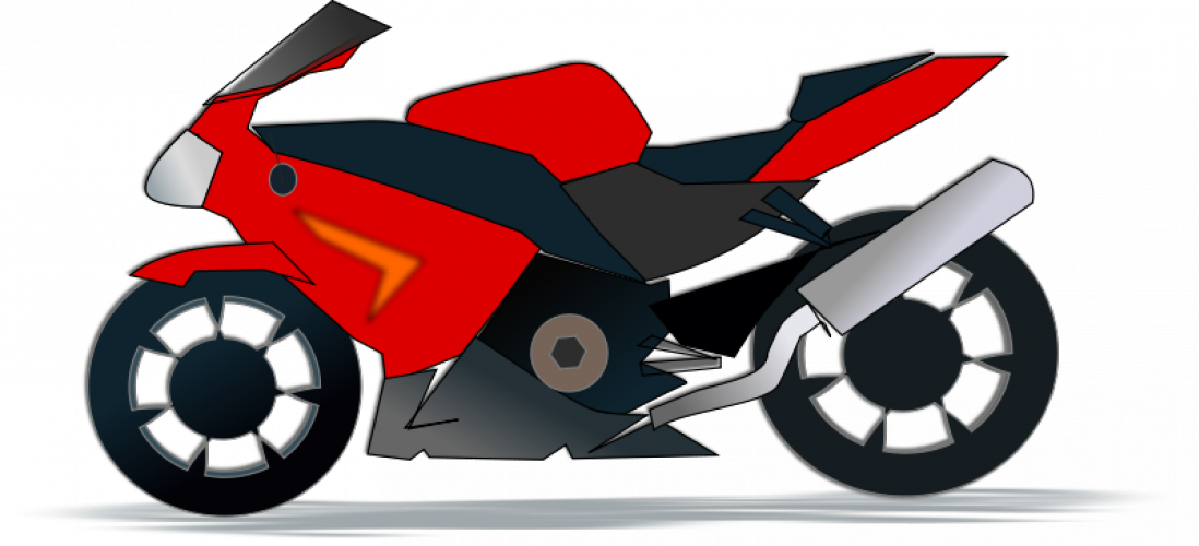 Motor Cycle Clip Art.